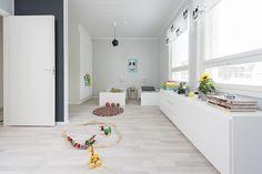 Design-Talo Trio Seinäjoen asuntomessuilla 2016. Fashion Room, Kids Room, Divider, Room Style, Furniture, Design, Home Decor, Room Kids, Decoration Home