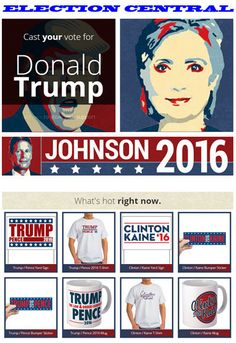 Election Central - T-shirts,Poster Sale -   lrhenry #WikiLovesMonuments #StandUpwithYT  #neverhillary #trump #maga