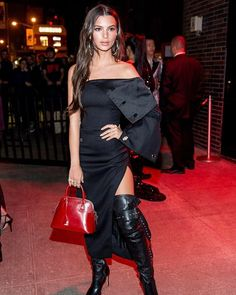 @EmRata completely changed up her outfit for the #MetGala after-party in this subtly sexy look. Tap the link in our bio for more of the best celebrity #MetGala after-party looks!  #HarpersBazaarSG  via HARPER'S BAZAAR SINGAPORE MAGAZINE OFFICIAL INSTAGRAM - Fashion Campaigns  Haute Couture  Advertising  Editorial Photography  Magazine Cover Designs  Supermodels  Runway Models