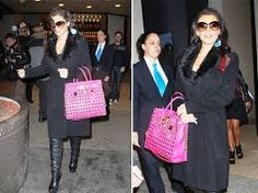 michael kors bags - Celebrity Sighting and  a MK BAG!