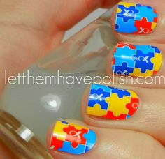Let them have Polish!: Jamberry Nail Shields for Autism Awareness Month!