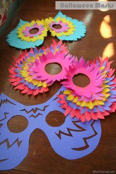 My Owl Barn: Halloween Owl Masks
