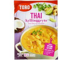 THAI KYLLINGGRYTE 78 g - Våre produkter - Toro