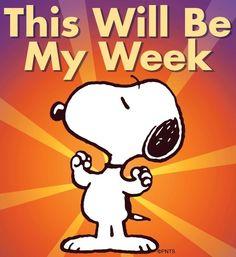 This will be my week cartoon via www.Facebook.com/Snoopy