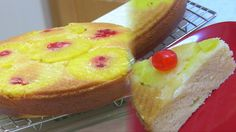 Nice Pineapple Upside Down Cake  - Egg Free Baking