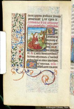Book of Hours, MS S.5 fol. 195v - Images from Medieval and Renaissance Manuscripts - The Morgan Library & Museum