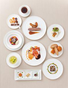 目に嬉しい宝石のような美しいフランス料理のスペシャルコース *結婚式おしゃれで豪華な料理のアイデア*