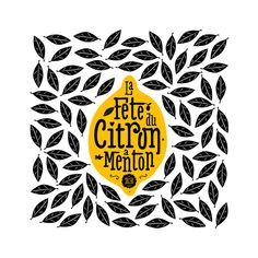 // Ctrl Do On Typography Served // fete du citron menton // Typography Served, Typography Letters, Graphic Design Typography, Graphic Design Illustration, Branding Design, Kids Graphic Design, French Illustration, Branding Tools, Creative Typography