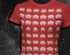 Space Invaders  Womens Tshirt by vortextradingcompany on Etsy, $24.00