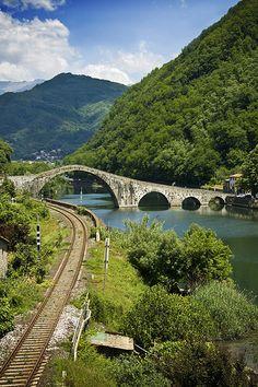 Devil's Bridge - Garfagnana, Tuscany, Italy