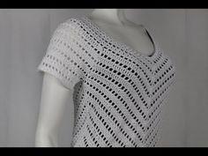 Vestido Crochet Facil y Rapido a su medida - YouTube