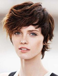 Image result for gender neutral curly haircuts