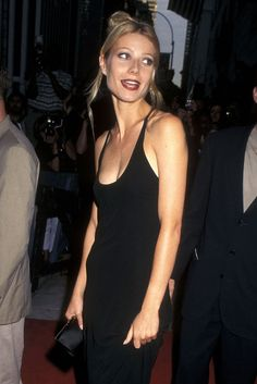 Gwyneth Paltrow at the premiere of Emma in New York City, July 1996.