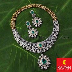 Jewellery Designs: Collar Choker by Kalyan Jewellers