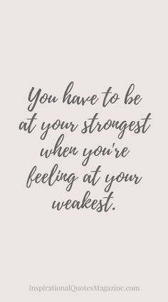 Quotes About Strength : QUOTATION – Image : Quotes Of the day – Description Inspirational Quote about Strength – Visit us at InspirationalQuot… for the best inspirational quotes! Sharing is Power – Don't forget to share this quote ! New Quotes, Great Quotes, Quotes To Live By, Motivational Quotes, Funny Quotes, Life Quotes, Qoutes, Tough Day Quotes, Life Sayings
