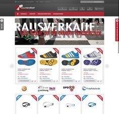 Artikel rund um das Thema Handball   Referenz E-Commerce der FENOMICS GmbH