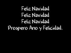 "[Lyrics] - Feliz Navidad YES, I TRULY DO! MERRY CHRISTMAS TO MY SPANISH BELOVED FAMILY MEMBERS AND BELOVED FRIENDS! XXOO :) <3 ""I LOVE YOU!"""