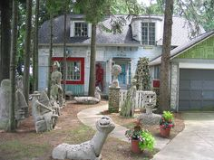 The Witch of Fox Point- Artist Mary Nohl's House