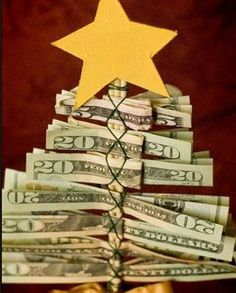 The money tree is a fun way to give that special someone some cash extra this holiday season.