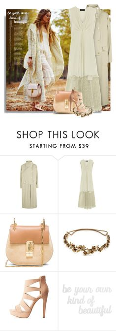 """""""Be Your Own Kind of Beautiful  and Celebrate Our 10th Polyversary!"""" by breathing-style ❤ liked on Polyvore featuring Topshop, By Malene Birger, Chloé, Jennifer Behr, Charlotte Russe and PBteen"""