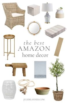 The Best Amazon Home - Decor, Lighting, Organization, Cleaning & More!