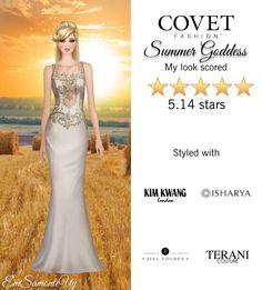 Summer Goddess @covetfashion  #covet #covetfashion #fashion #summer #summer2015 #goddess #TeraniCouture