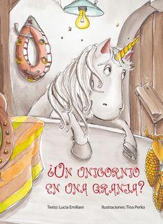 En la pequeña granja de la montaña se había montado un gran revuelo. Todos los animales esperaban la llegada del caballo nuevo. Lo imaginaban alto, esbelto y blanco como la nieve. Cuando llegó el remolque a la granja, la vaca Katya lo vio. Vio sus blancas y largas crines y en el medio… Los animales se convencieron de que aquello era un unicornio. ¿Sería cierto? (A partir de 6 años )