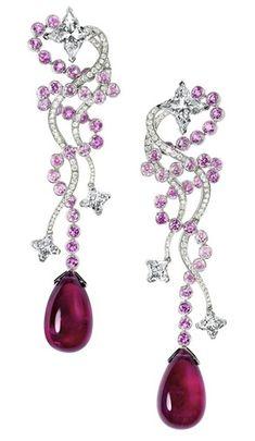 Louis Vuitton, L'ame du Voyage earrings