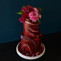 Vegan Wedding Cake, Black Wedding Cakes, Elegant Wedding Cakes, Elegant Cakes, Beautiful Wedding Cakes, Wedding Cake Designs, Beautiful Cakes, Pretty Cakes, Cute Cakes
