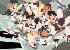 zero gravity, again voltron was a fun ride, I'm excited for s2 ...