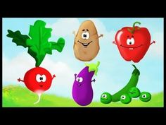 Apprendre les légumes en s'amusant (français) - Not only will this help students learn about vegetables in French, but also might make them like them, too : )