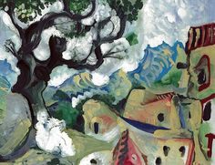 Pablo Picasso - Landscape in the Provence, 1965