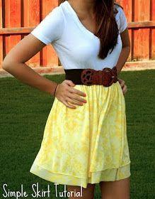 DIY skirts.