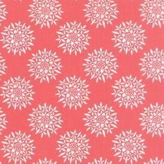 Canyon Sedum Sunset by Kate Spain for Moda Fabrics // Juberry Fabrics Native American Baskets, Etsy Fabric, Old Country Stores, Pink Themes, Painting Patterns, Flora, How To Draw Hands, Spain, Quilts