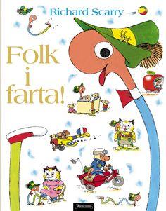 Ny, stor bildebok av Richard Scarry - en søt, morsom og spennende feelgood-bok for de minste.