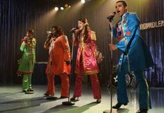 'Glee' Season 5 Episode 2 Spoilers: Tina's Nominated for Prom Queen in Part 2 of Beatles Tribute [Video] Beatles Songs, The Beatles, Glee Episodes, Glee Season 5, Beatles Sgt Pepper, Online Nursing Schools, Glee Club, Fall Shorts, Prom Queens