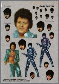 Gary Glitter can go with you wherever you go!...Just not to the Preschool!