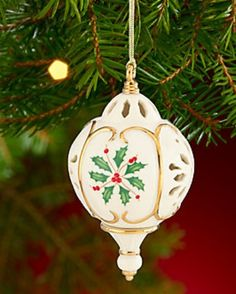 Lenox love. #Lenox #ornament