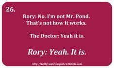 I love Rory