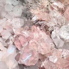 #crystals #love #quartz Rose quartz is my favorite stone for love. Not only does it encourage self love, it helps draw new love to you, or deepen existing relationships. by balistyles http://ift.tt/1RBVuyG