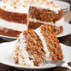 This the really the Best Carrot Cake with Cream Cheese Frosting! The cake is supremely tender, moist, and full of great flavor. The frosting is outstanding.