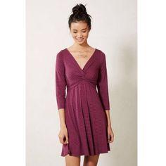 1daysale Lilka Anthro Torsade Striped Dress