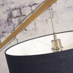 Montblanc Floor Lamp Good&Mojo • WOO .Design Diy Floor Lamp, Bamboo Floor, Bioethanol Fireplace, Bulb, Design, Mont Blanc, Onions, Light Bulb