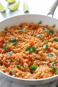 Quick Mexican Brown Rice