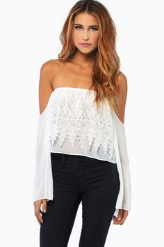 MANIFEST CROP TOP at HelloShoppers