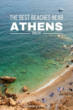 Discover the best beaches near Athens, Greece. White sand, crystal clear water and ancient temples just a stone throw away. Mykonos Greece, Crete Greece, Athens Greece, Greece Vacation, Greece Travel, Travel Europe, Travel Destinations, One Summer, Summer Travel