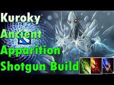 Kuroky Ancient Apparition  Shotgun Build  [Eb + Dagon 5 + Scepter]  dota 2