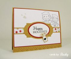 MFTWSC151 (Card Inside) My Favorite Things MyFavoriteThings MFT Card Stamp Christmas Holiday Holiday Gift Blog: www.CardsByBecky.blogspot.com