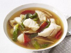 Hot-and-Sour Seafood Soup #FeelGoodFood