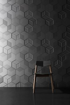 Concrete wall tiles SIX by Bentu Design